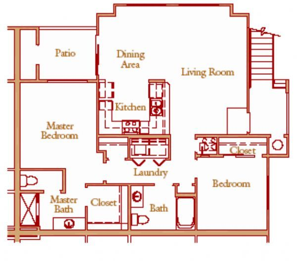 Granite ridge apartments in clovis california for Granite ridge floor plans
