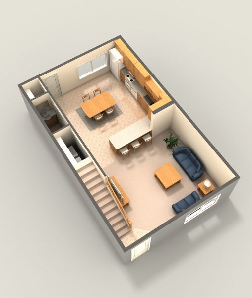 2 Bedroom Entry