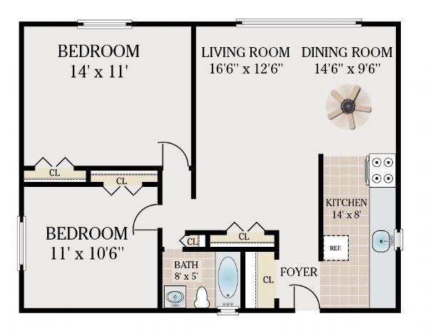 2 bedroom for 248 reynolds terrace orange nj