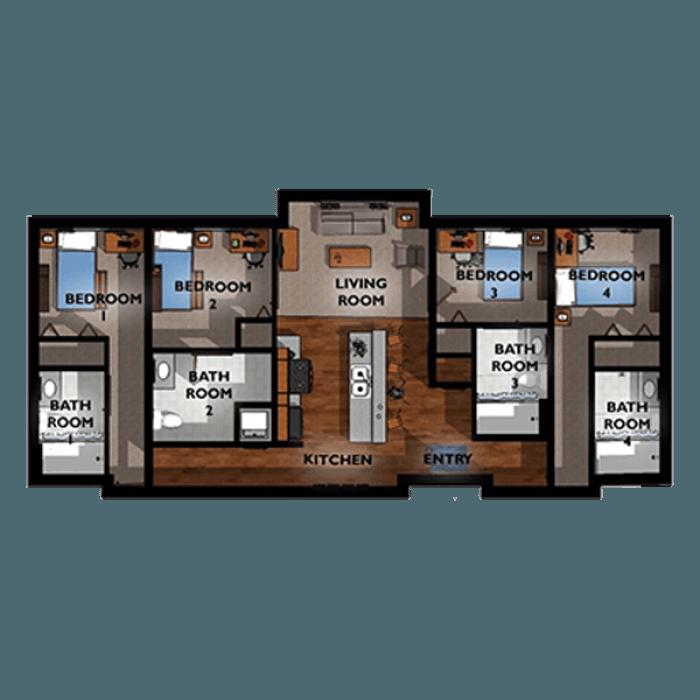 4 Bedroom 4 Bath