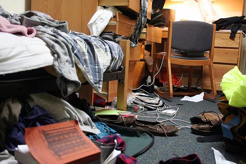 Gross Roommates - Bedroom