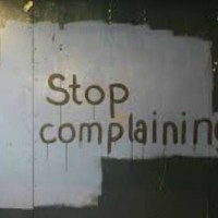 stop complaining wall