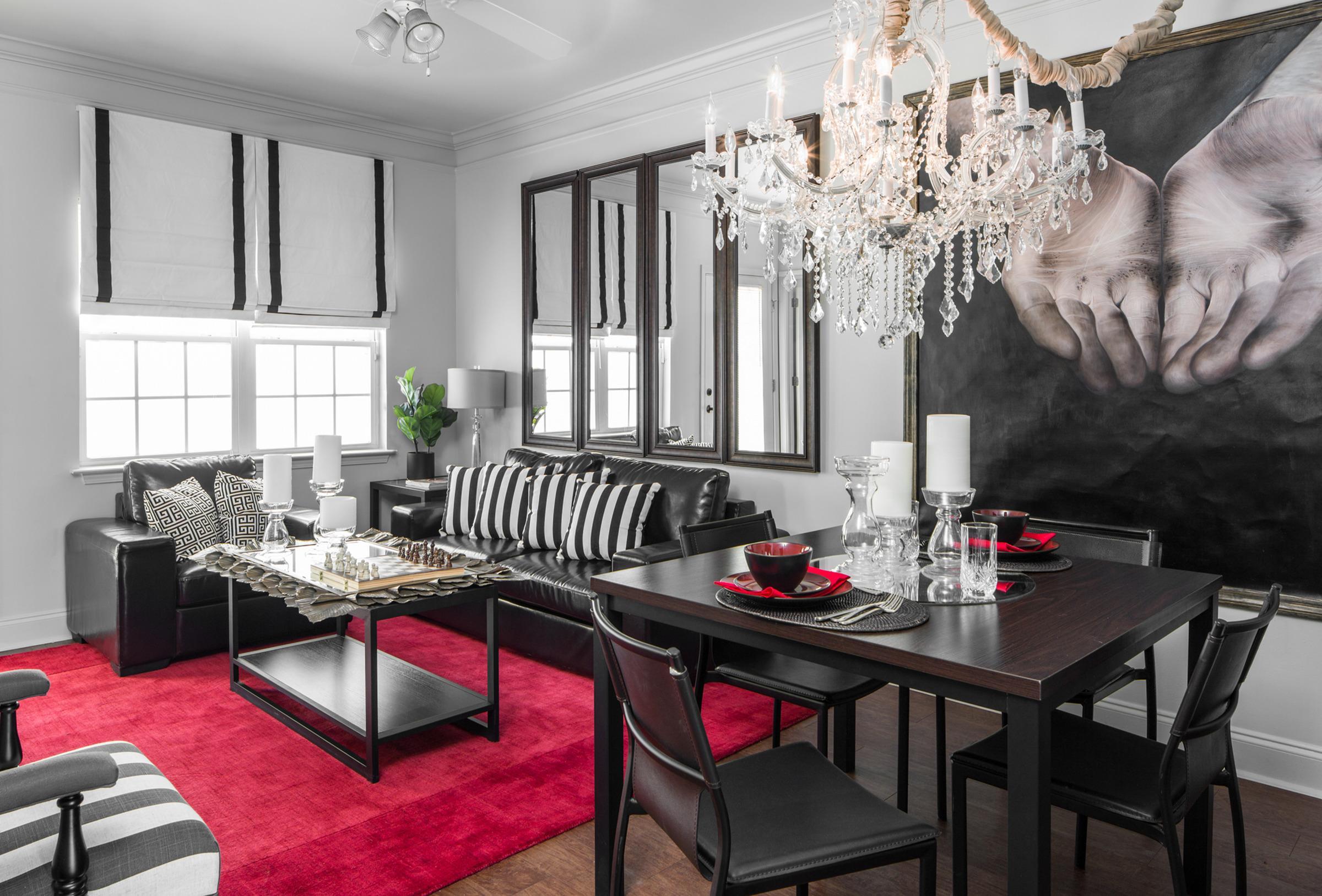 The George apartment interior