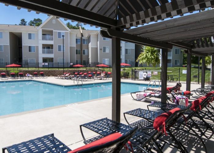 Village Green Apartments In Raleigh North Carolina