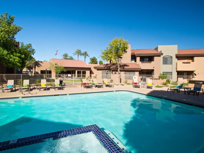Mosaic apartments in Scottsdale, Arizona