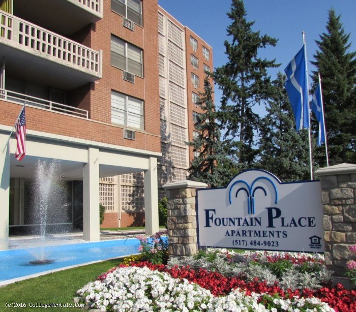 Apartments In Michigan: Fountain Place Apartments In Lansing, Michigan