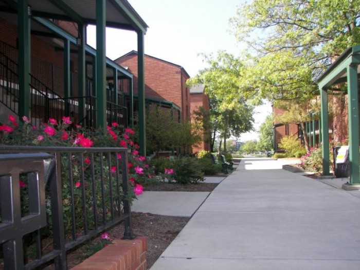 Mill Street Village apartments in Athens, Ohio