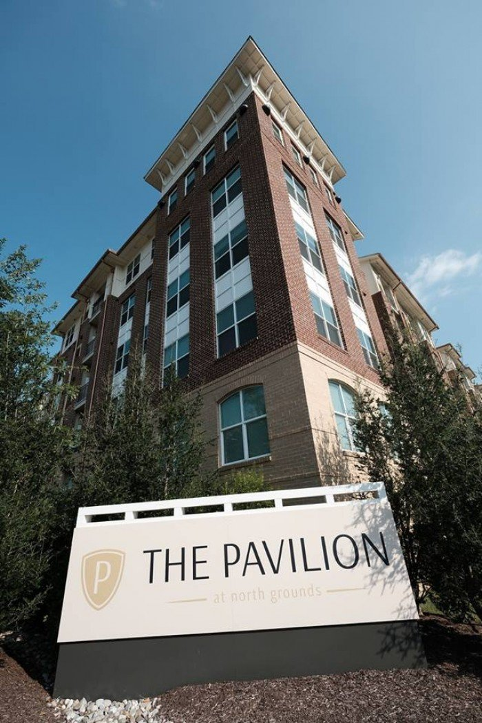 The Pavilion at North Grounds apartments in Charlottesville, Virginia