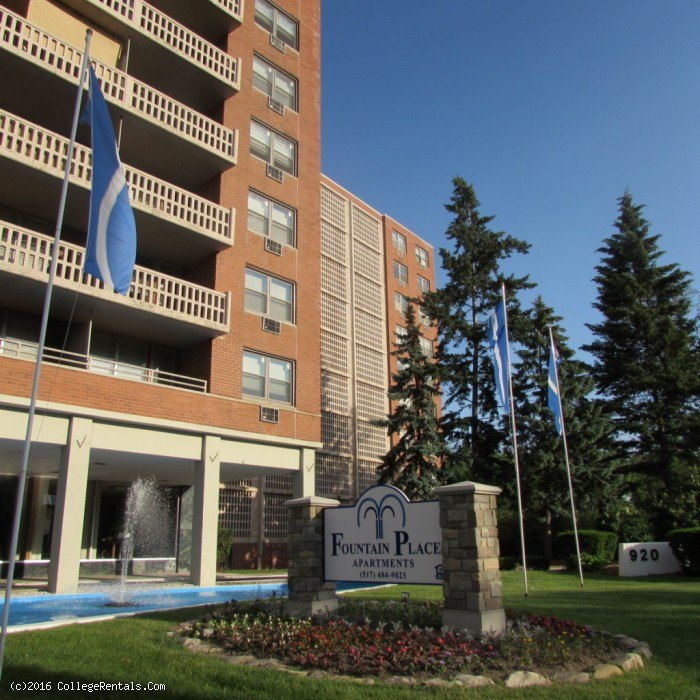 Fountain Place Apartments In Lansing, Michigan