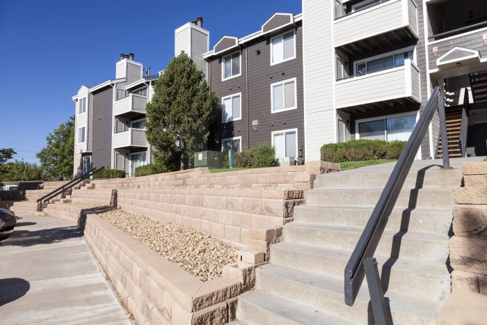St Moritz apartments in Lakewood, Colorado
