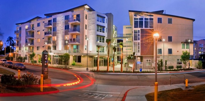 Paseo Place apartments in San Diego, California