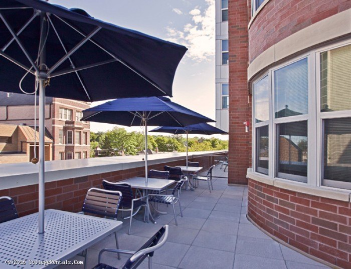 Landmark apartments in Ann Arbor, Michigan