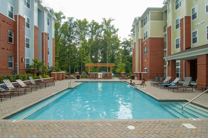 The Flats at Campus Pointe apartments in Charlotte, North Carolina