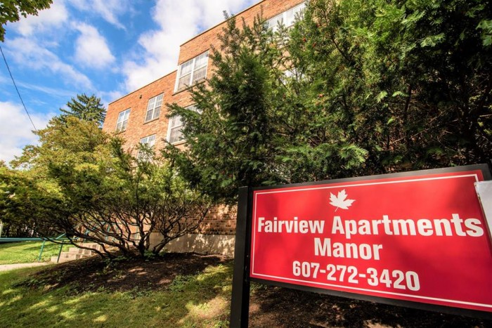 Fairview apartments in Ithaca, New York