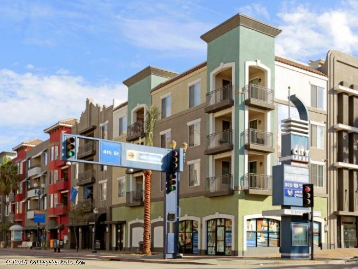City Place apartments in Long Beach, California