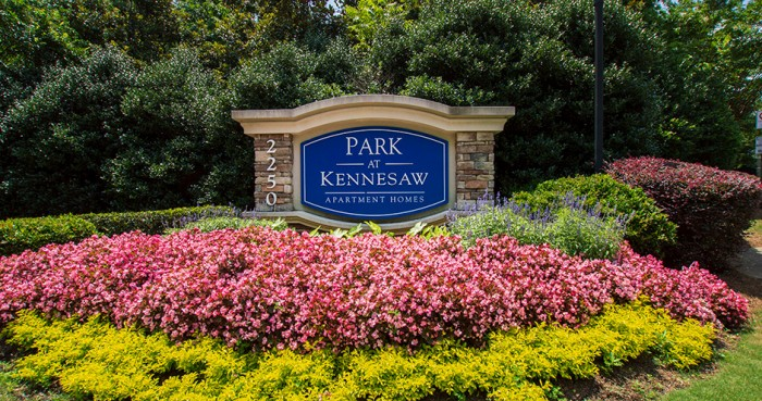 Park at Kennesaw apartments in Kennesaw, Georgia
