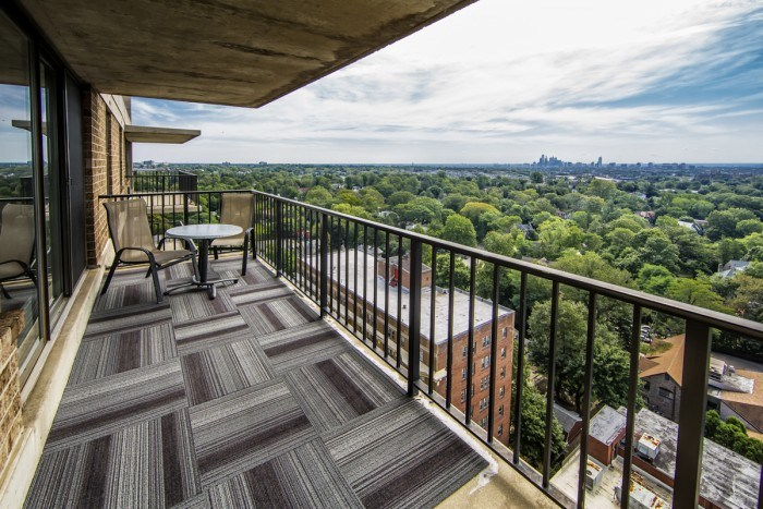The Point at City Line apartments in Philadelphia, Pennsylvania