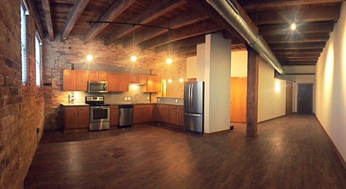 The Historic Fifth Ward Lofts apartments in Milwaukee, Wisconsin