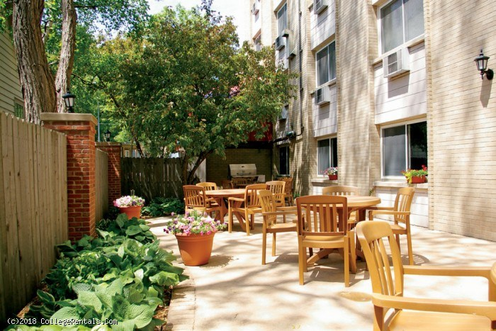 The Highlander apartments in Madison, Wisconsin