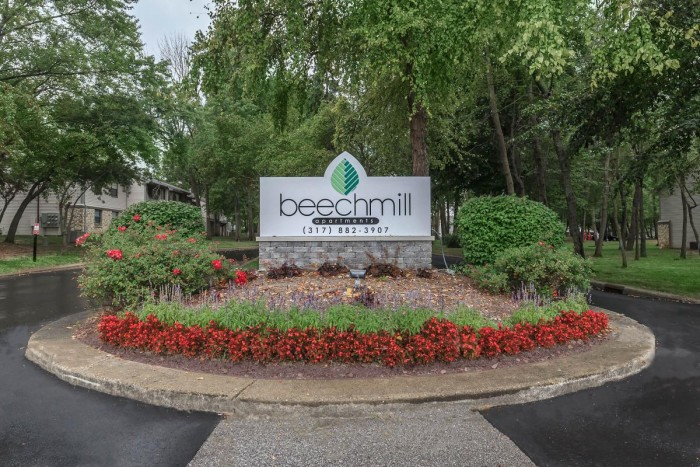 Beechmill apartments in Indianapolis, Indiana