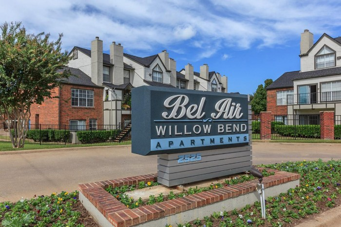 Bel Air Willow Bend Apartments In Plano Texas