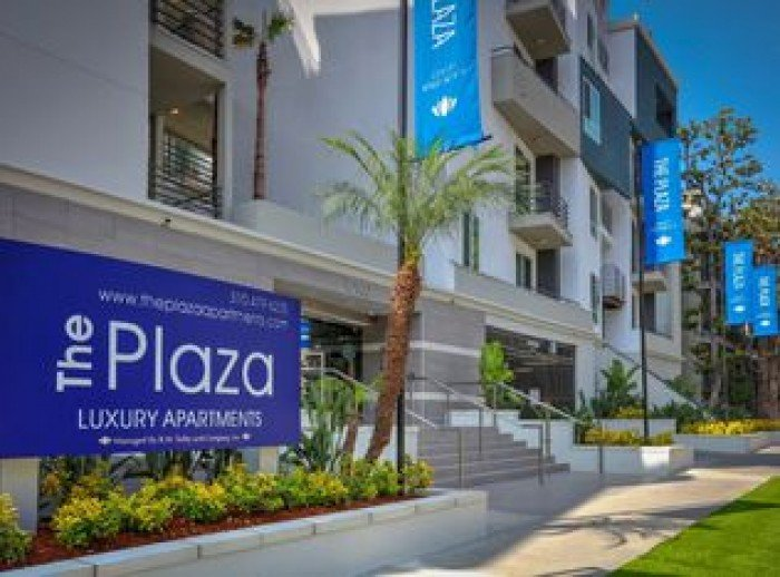 The Plaza apartments in Los Angeles, California