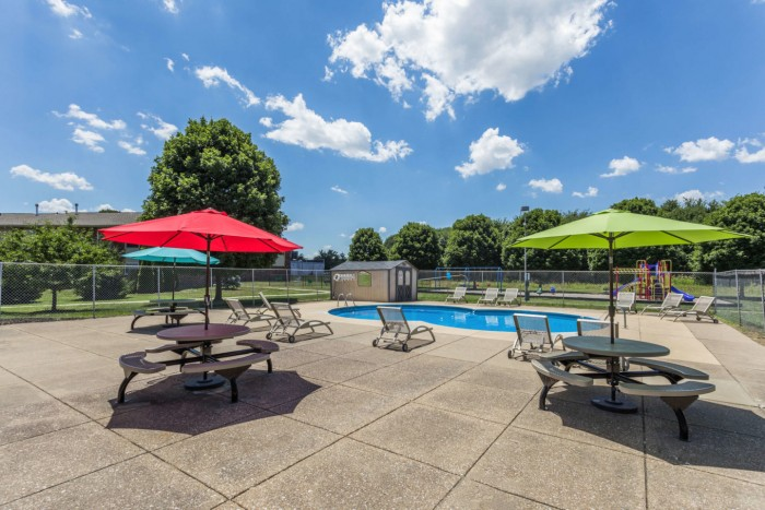 Kimber Green apartments in Evansville, Indiana
