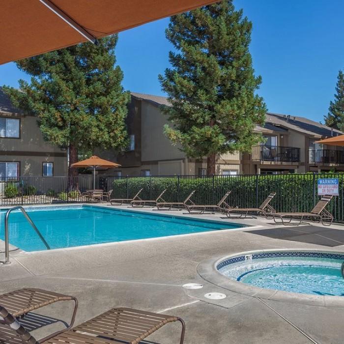 Evergreen Park Apartments In Sacramento, California