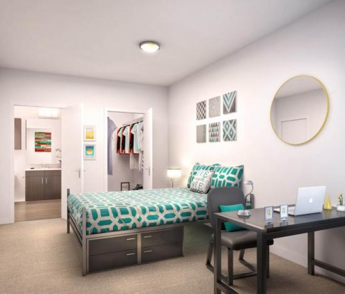 The Crossings Student Living  apartments in Sacramento, California