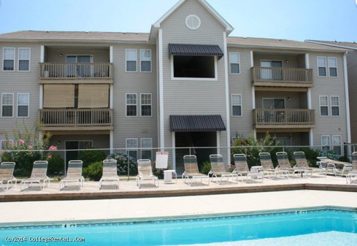 Quad apartments in Wilmington, North Carolina