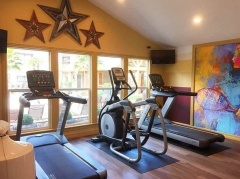 Newly renovated and fully equipped fitness center