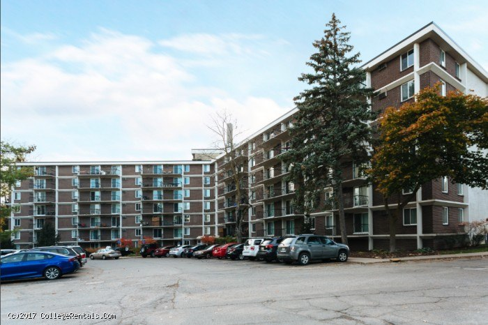 the tower at campus view apartments in east lansing michigan