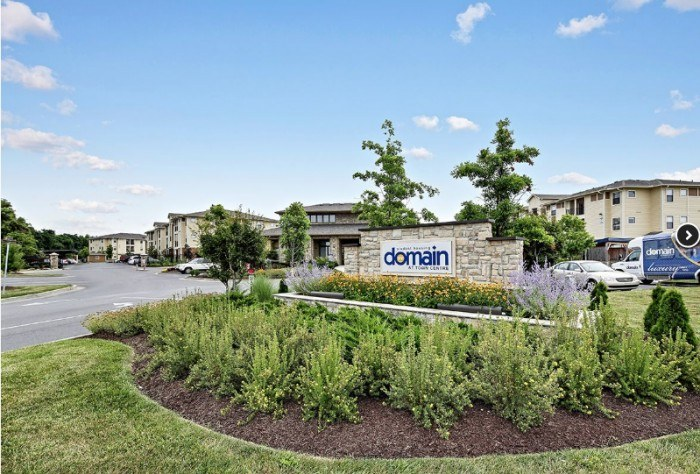 Domain At Town Centre Apartments In Morgantown West Virginia