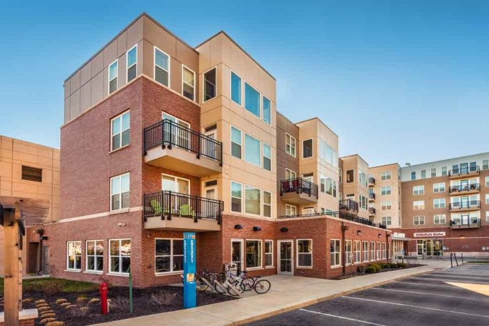 The Avenue apartments in Indianapolis, Indiana