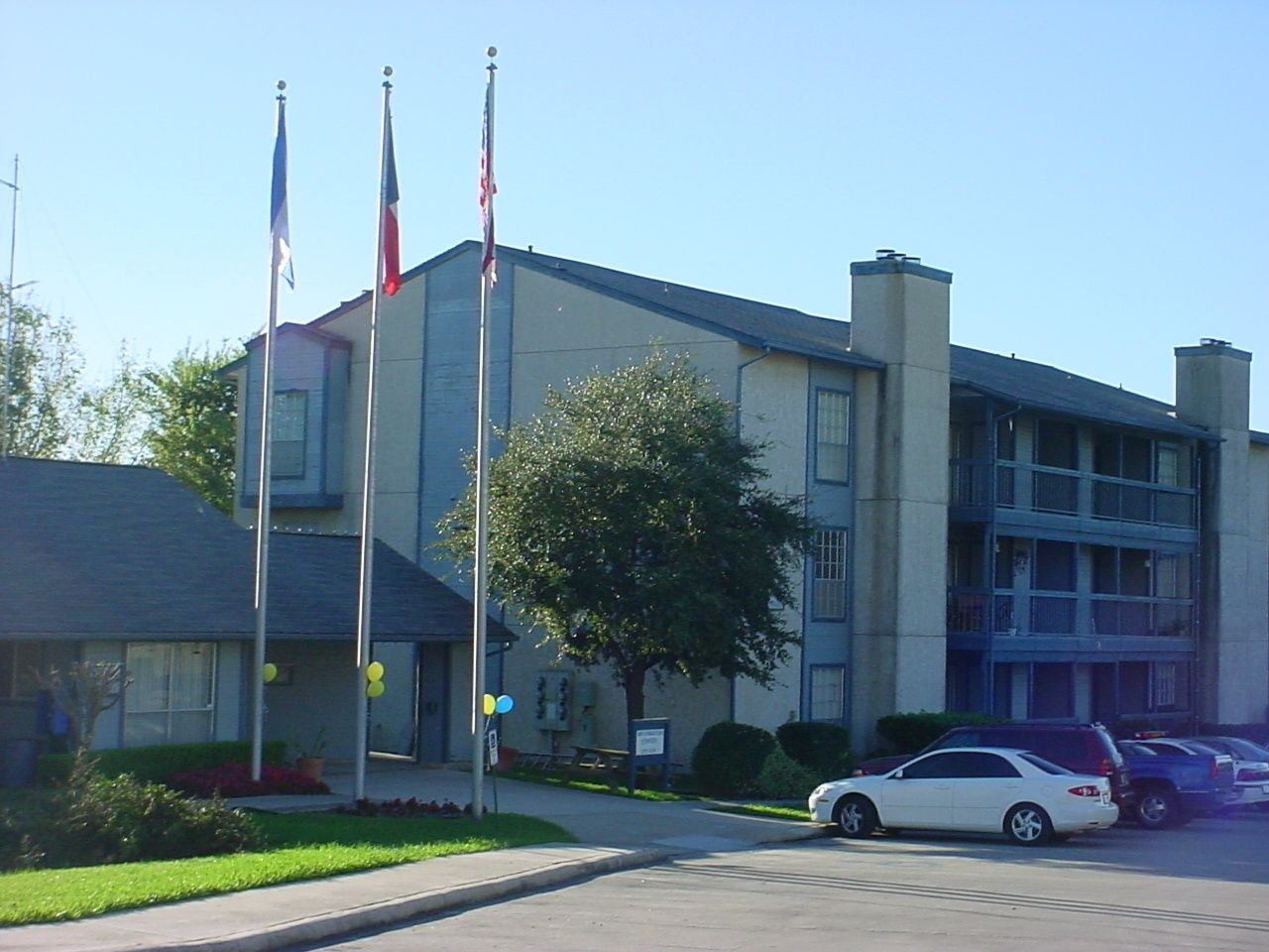 The Summit apartments in San Marcos, Texas