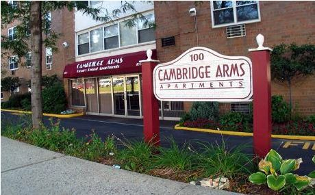 Cambridge Arms apartments in Hackensack, New Jersey