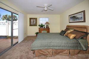 Two Bedroom/ Two Bathroom Bedroom has private door