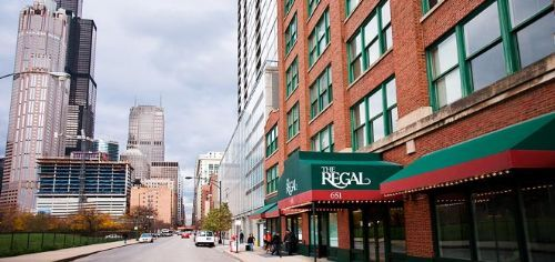 The Regal apartments in Chicago, Illinois