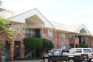 Shady Oaks South apartments in Austin, Texas