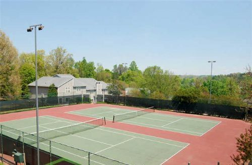 State of the art Tennis Courts