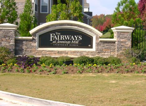 The Fairways at Jennings Mill apartments in Athens, Georgia
