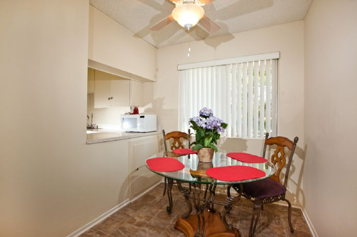 Separate dining rooms