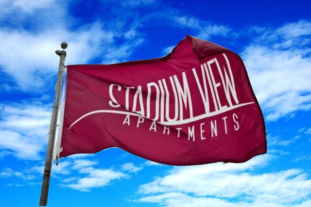 Welcome home to Stadium View Apartments!