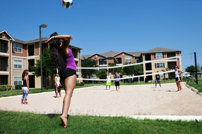 Sand Volleyball Court!!