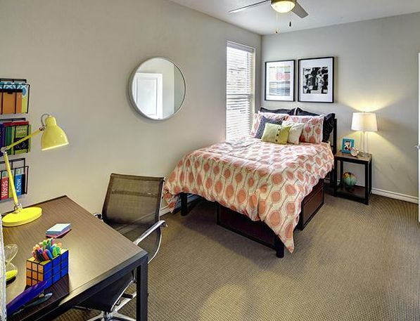 U Club Townhomes At Overton Park Apartments In Lubbock Texas