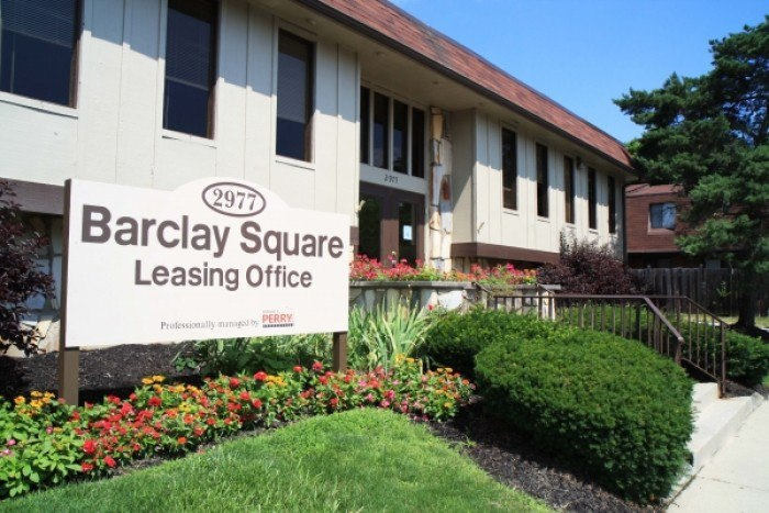 Barclay Square apartments in Columbus, Ohio