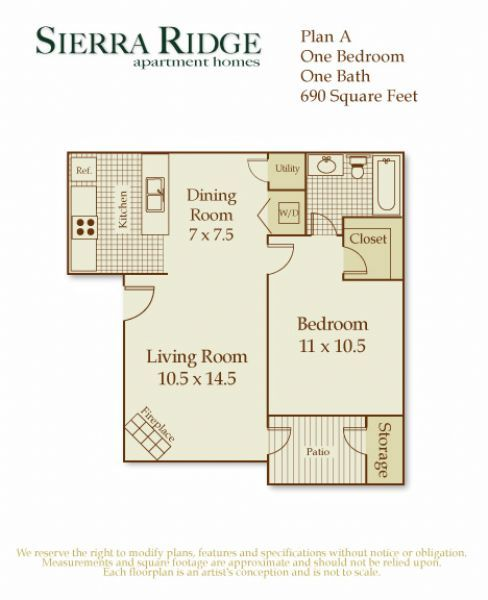 Sierra Ridge Apartments In Citrus Heights, California