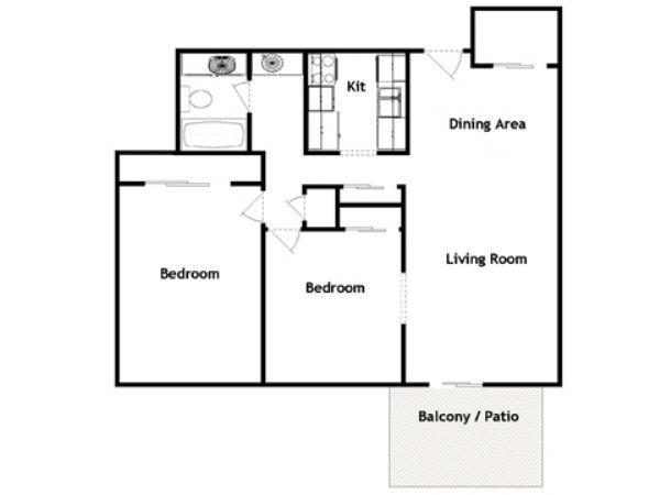 Longmeadow Apartments In Greeley  Colorado
