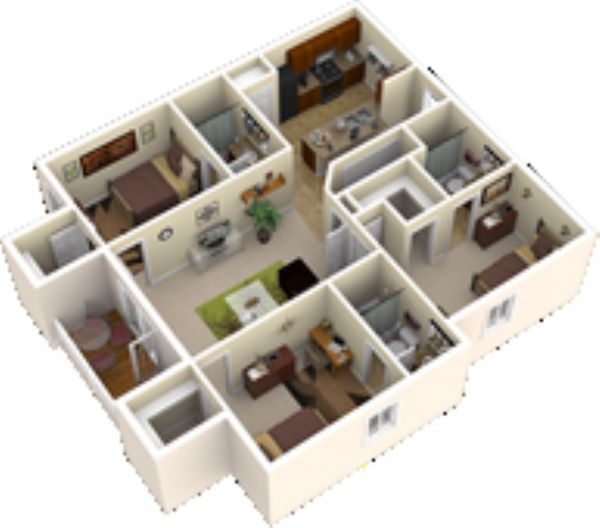Apartments In Carbondale Il: Reserve At Saluki Pointe Apartments In Carbondale, Illinois