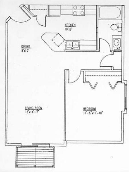 1 Bedroom Apartment Winnipeg St Boniface